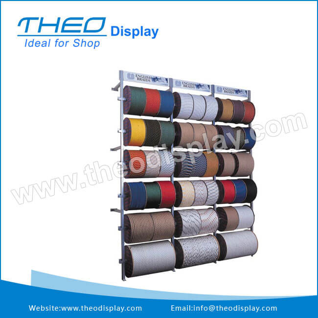 Ribbon Wall Mounted Retail Display Rack Retail Display